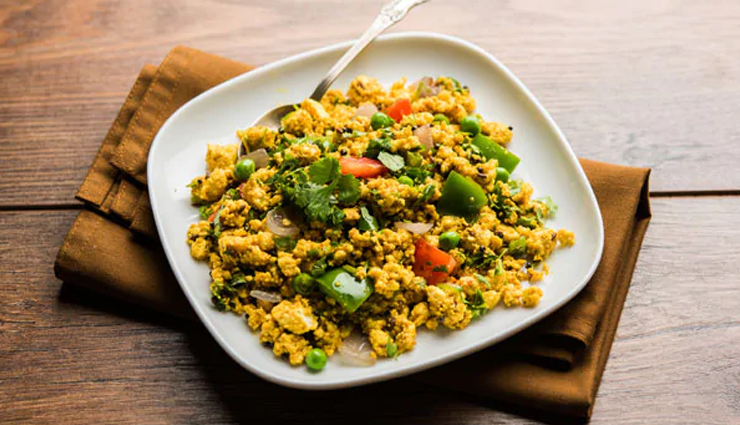 Summer Recipe- Quick To Make Paneer Bhurji