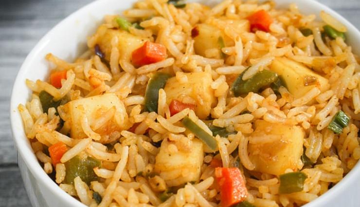 Recipe- Street Style Paneer Fried Rice