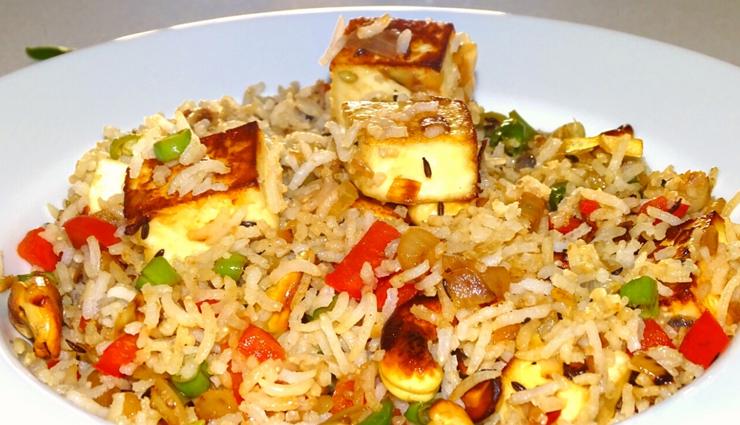 paneer fried rice,paneer fried rice recipe,hunger struck,food