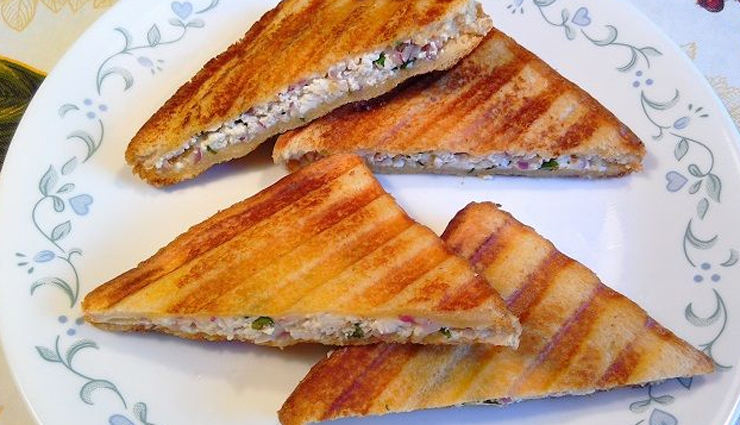 summer recipe,paneer sandwich,sandwich recipe,snacks recipe