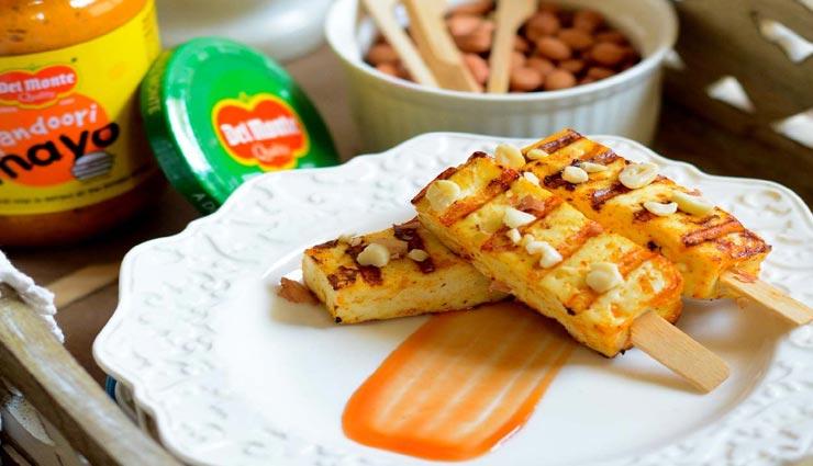 पनीर तंदूरी मेयो के साथ बनाए वीकेंड को स्पेशल #Recipe