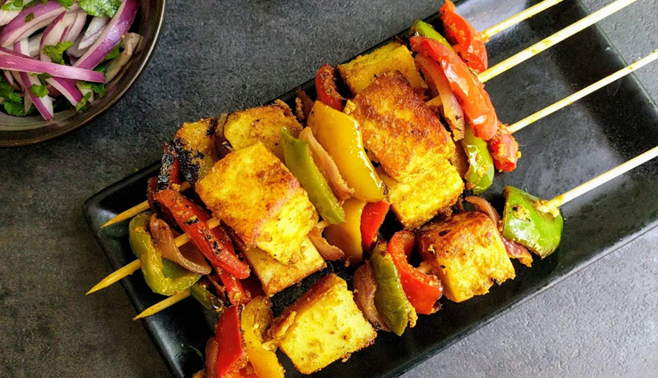 smoky flavor achari paneer tikka,paneer tikka recipe,achari paneer tikka recipe,paneer  tikka,smoky paneer tikka,snacks,easy recipes,hunger struck,food