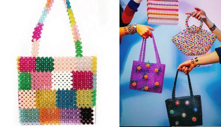 fashion  of pearl bag,pearl bags,fashion tips,fashion trends,pearl hand bags ,फैशन टिप्स, फैशन ट्रेंड्स, फिर लौटा मोती वाले बेग का फैशन