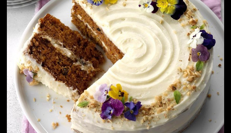 Mothers Day 2019- Make Your Mom Feel Special With Pineapple Carrot Cake