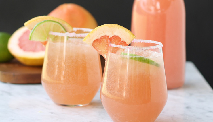 Summer Recipe- Pink Grapefruit Party Punch