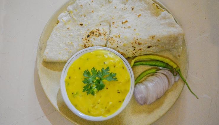 Recipe for Try Pitla Bhakri from Maharashtra