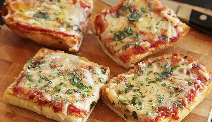 Recipe- Enjoy The Evening With French Bread Pizza Toast
