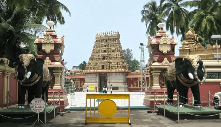 places in mangalore,major attractions of mangalore,karkala gomateshwara,dharmasthala temple,maravanthe beach,sri krishna matha,st marys islands