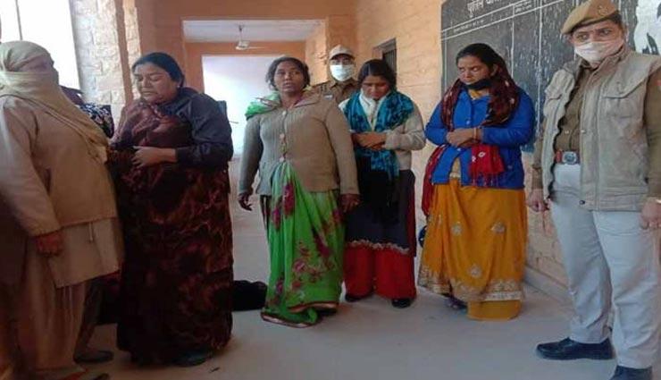 जोधपुर : सिटी बस में महिला के पर्स से हुई थी 25 हजार की चोरी, गिरफ्तार हुई चार महिलाएं