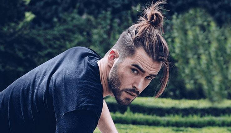 trending men ponytail hairstyles,ponytail hairstyles,ponytail hairstyles for men,men fashion tips,latest ponytail designs,fashion tips