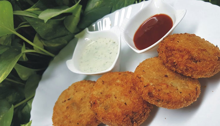 Recipe- Enjoy Sunday Evening With Potato Cheese Tikki