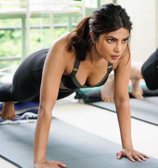 Priyanka Chopra Shares How She Gained Fitness With Yoga - lifeberrys.com
