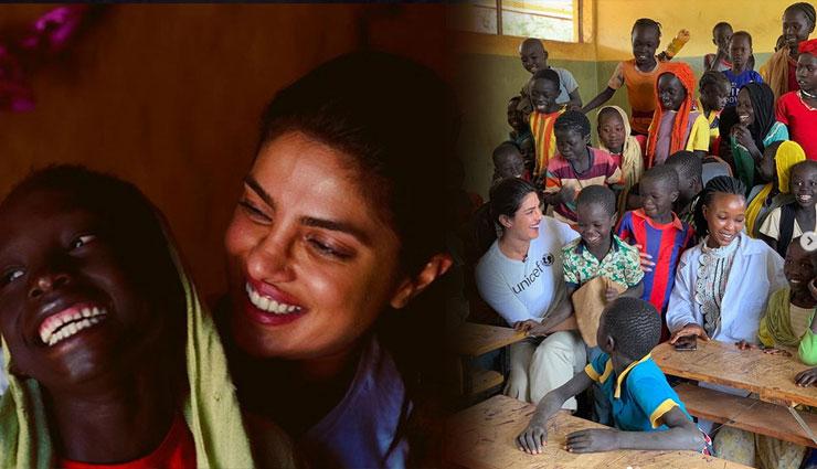 कान्स के बाद इथियोपिया पहुंची प्रियंका चोपड़ा, शरणार्थी कैम्प में बच्चों से मिलीं