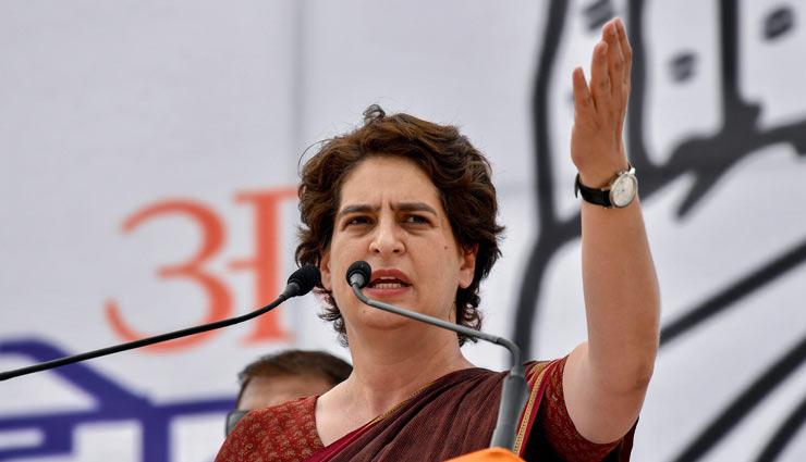 प्रियंका गांधी वाड्रा ने पूछा मोदी 'चौकीदार' हैं या दिल्ली के 'शहंशाह'