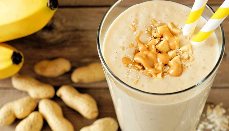 protein shakes,healthy protein shakes,protein shakes recipe,drinks recipe,almond coconut protein shake,peanut butter- banana protein shake,peach cobbler protein shake,chocolate protein shake,oatmeal blueberry and chia seeds protein shake