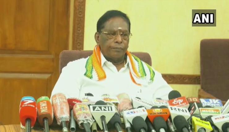 पुडुचेरी के CM का PM मोदी को पत्र, पहले चरण में राजनेताओं को लगे वैक्सीन