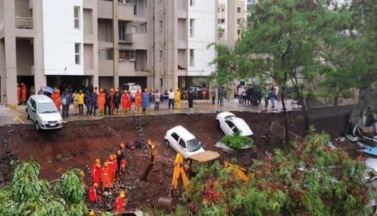 महाराष्ट्र: पुणे में बारिश से बड़ा हादसा, 20 फीट ऊंची दीवार गिरने से 4 बच्चों समेत 16 लोगों की मौत
