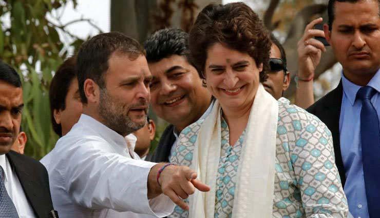 राहुल और प्रियंका की तारीफ में शिवसेना ने कही यह बात...