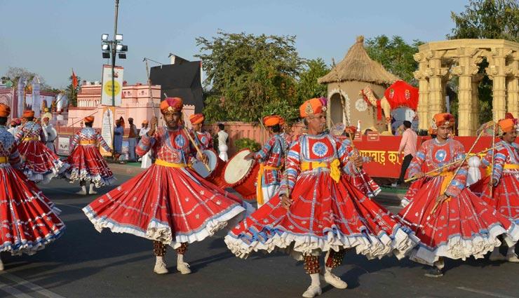राजस्थान दिवस समारोह - 2018 : जनपथ पर साकार हुई प्रदेश की 'सांस्कृतिक आत्मा'