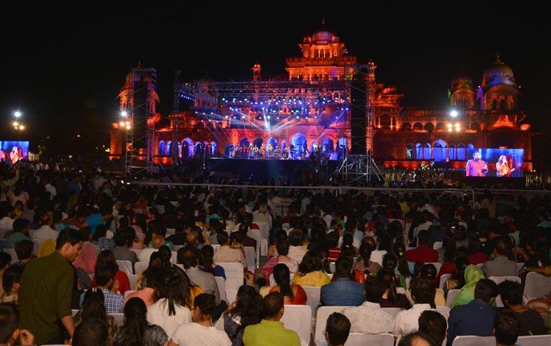 rajasthan festival 2018,mega music show,rajasthan,rajasthan news ,राजस्थान,राजस्थान न्यूज़,राजस्थान दिवस समारोह 2018