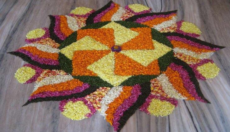 decoration tips,diwali decoration,rangoli,flower rangoli,fragrance rangoli,beauty of rangoli,rangoli on diwali ,डेकोरेशन टिप्स, दिवाली डेकोरेशन, रंगोली, फूलों की रंगोली, खुशबू वाली रंगोली, दिवाली पर रंगोली, दिवाली  साज सज्जा