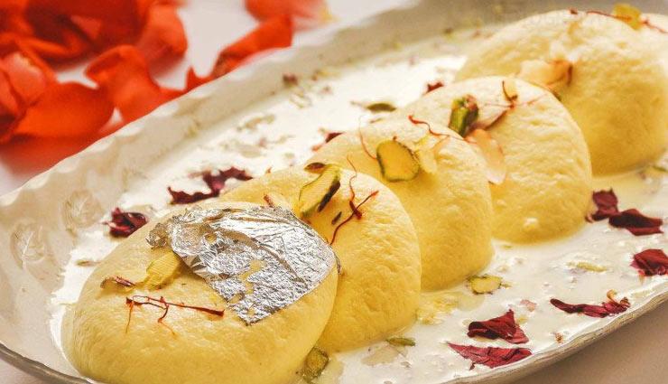 रसमलाई खाने के है शौक़ीन तो इस बार ट्राई करें 'गोल्डन रसमलाई' #Recipe