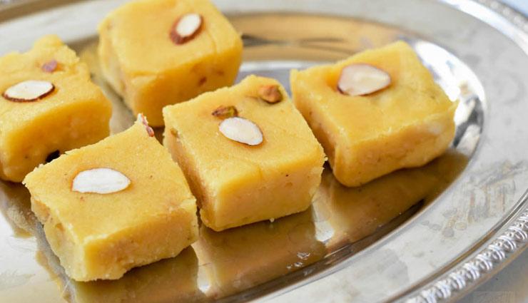 दिवाली स्पेशल : 'चना दाल बर्फी' देती है अपना अनोखा स्वाद, बनाए घर पर आसानी से #Recipe
