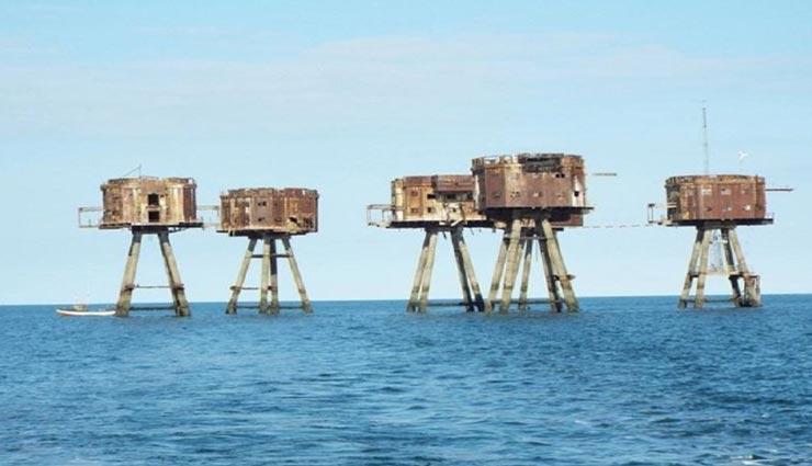 weird news,weird forts,red sands fort,fort of england ,अनोखी खबर, अनोखे किले, रेड सैंड्स फोर्ट, इंग्लैंड के किले