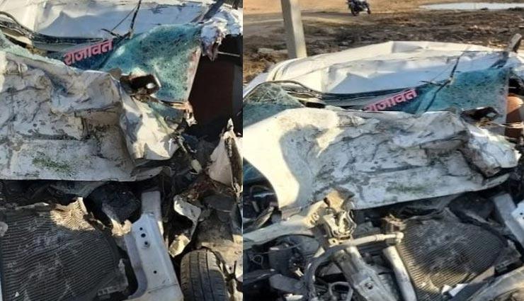 मध्यप्रदेश : NH-92 पर बड़ा सड़क हादसा,  एक ही परिवार के 6 लोगों की मौत