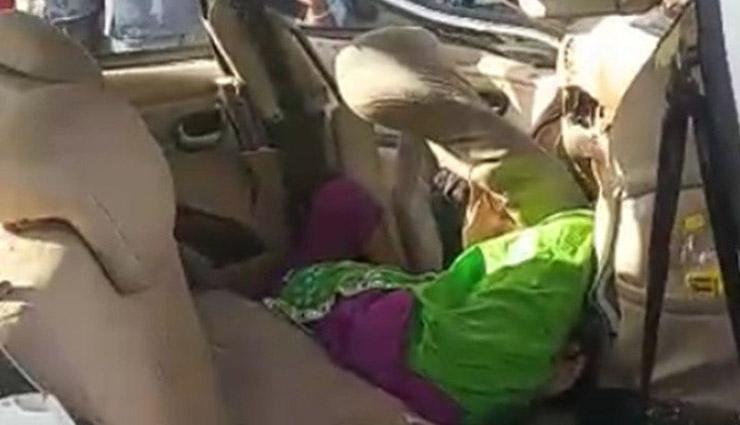 भीषण सड़क हादसा / जयपुर के एक ही परिवार के 4 सदस्यों की मौत, दो के सिर धड़ से हुए अलग