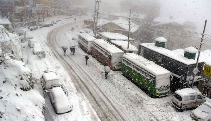 over 600 roads still blocked,himachal pradesh,himachal pradesh snow and rain,news