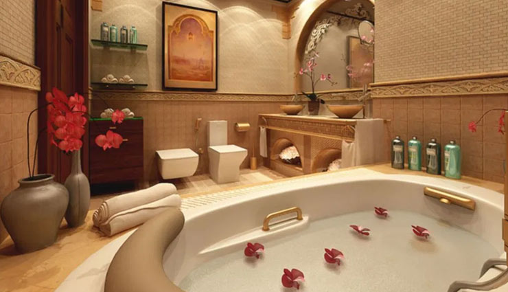 ways to set up romantic bathroom,romantic bathroom,bathroom decoration tips,household tips