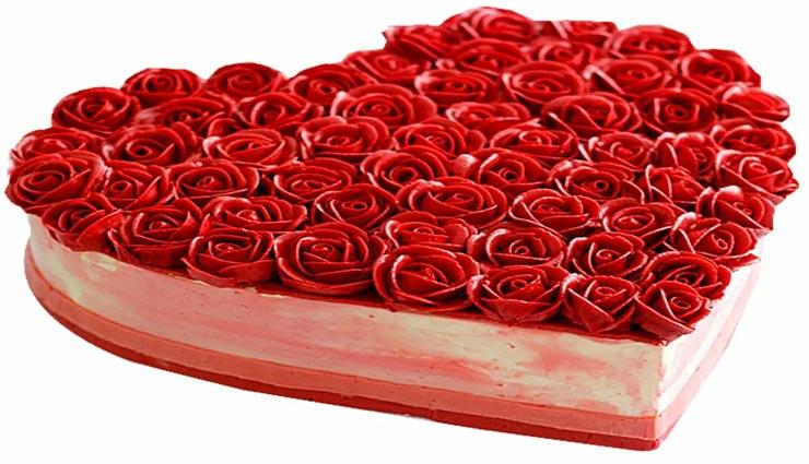Valentine Day Special :  'रोज केक' के साथ करें अपने प्यार का इजहार #Recipe
