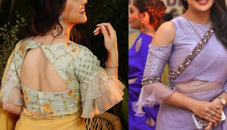 5 stylish blouses,fashion tips,fashion trends,trendy blouse,blouse fashion,blouse  design ,ब्लाउज डिजाईन, फैशन टिप्स. फैशन ट्रेंड्स, ट्रेंडी ब्लाउज, ये 5 स्टाइलिश ब्लाउज हैं इन दिनों फैशन में