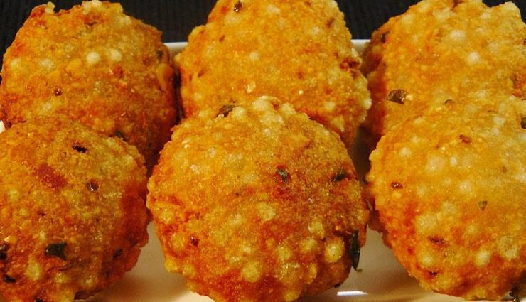 नवरात्रि स्पेशल : फलाहार में बनाएं कुछ ख़ास, ले 'साबूदाना बड़ा' का मजा #Recipe