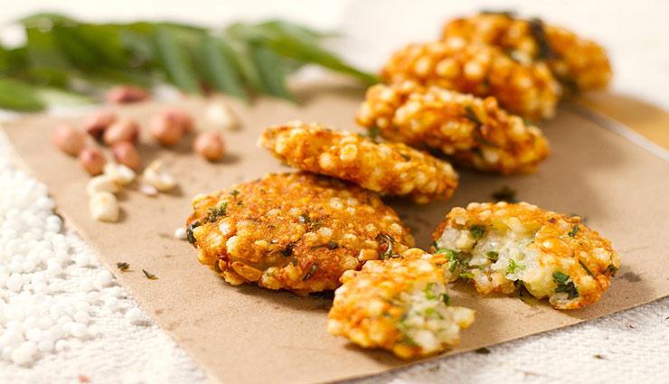 navratri,navratri special,recipe,recipe sabudana vada ,नवरात्रि विशेष, नवरात्रि, रेसिपी, रेसिपी साबूदाना वडा, उपवास का खाना, खाना-खजाना