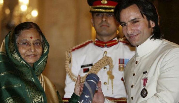 सैफ अली खान पर लगा 'पद्मश्री' अवॉर्ड खरीदने का आरोप, तो एक्टर ने कही यह बात...
