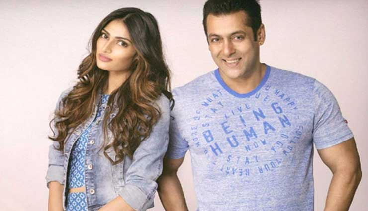 Salman Khan takes responsibility of Suniel Shetty's daughter Athiya