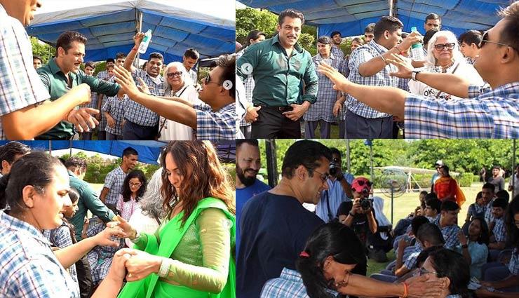 Salman Khan,fun,kids,dabangg 3,sonakshi sinha,salman khan new movie,salman khan news,sonakshi sinha new movie,bina kak,entertainment,bollywood news in hindi ,सलमान खान,बिना काक,सोनाक्षी सिन्हा,दबंग 3