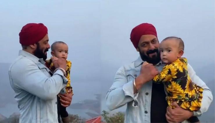 भांजी के साथ सलमान खान ने किया क्यूट डांस, वायरल हुआ ये खूबसूरत वीडियो