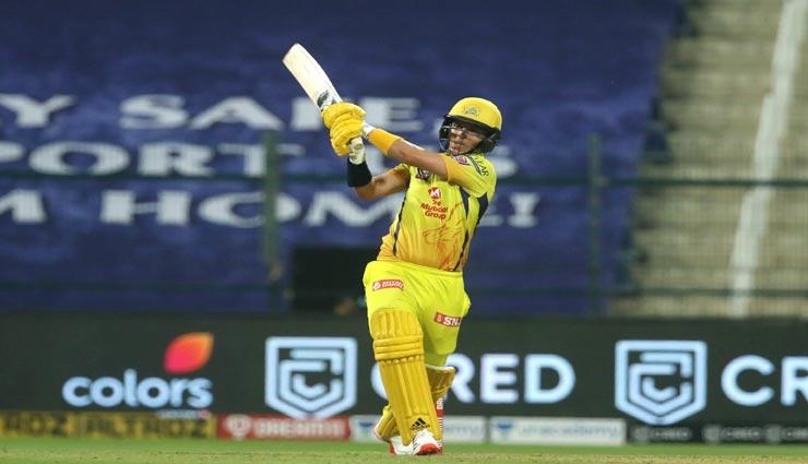 IPL 2020 :  बल्लेबाजी के क्रम में धोनी से ऊपर भेजे जाने का सैम करन ने खोला राज