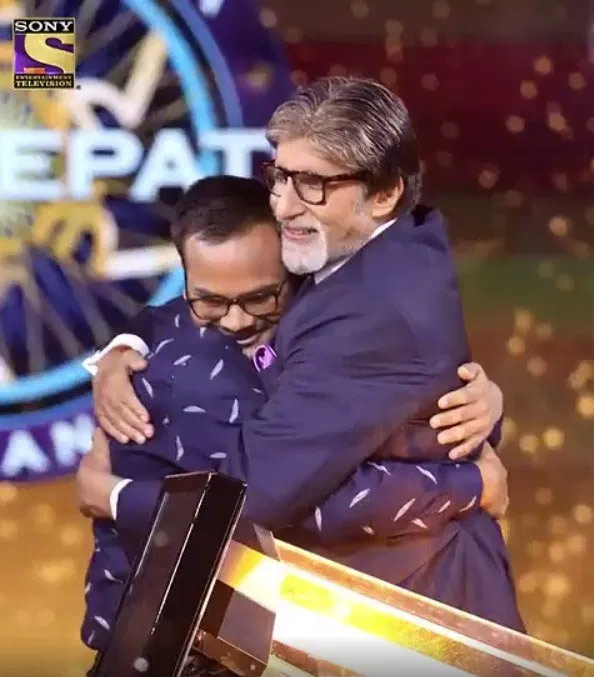 sanoj raj,sanoj raj to win rs 1 crore,kaun banega crorepati season 11,amitabh bachchan,entertainment news,sony tv