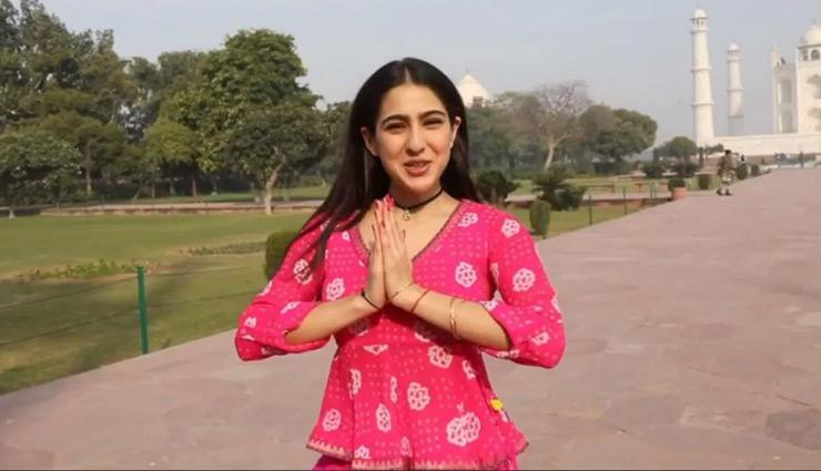 सारा अली खान की रिपोर्टिंग देख अक्षय कुमार ने पकड़ा माथा, दिया ये रिएक्शन, देखे वीडियो