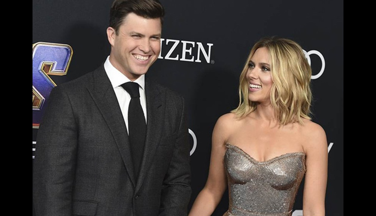 Scarlett Johansson, beau Colin Jost are engaged after 2 years of dating