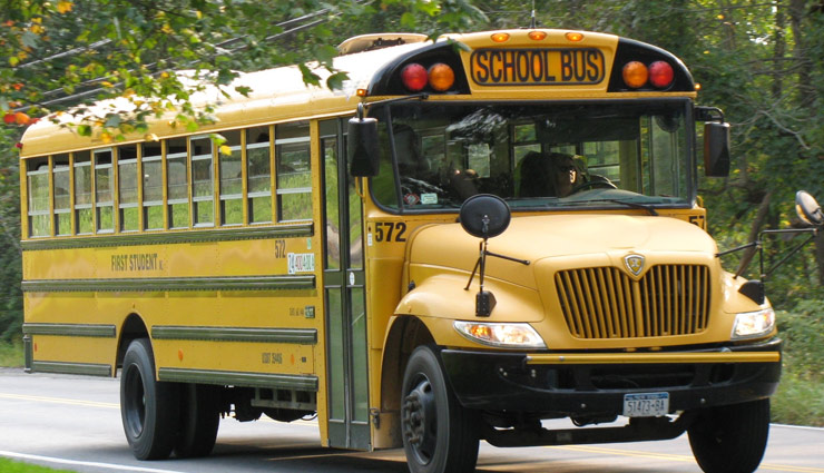 Do You Know Why All School Buses Color is Kept Yellow? Read Here
