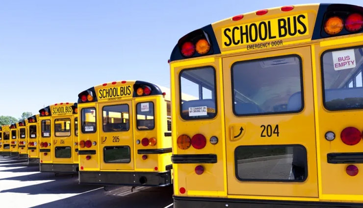 school buses color,school buses color why school buses color is yellow,facts