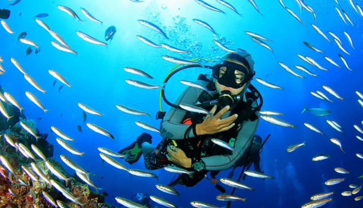 scuba diving in india,goa,pondicherry,malvan,dwarka,andaman,india tourism,travel,holidays