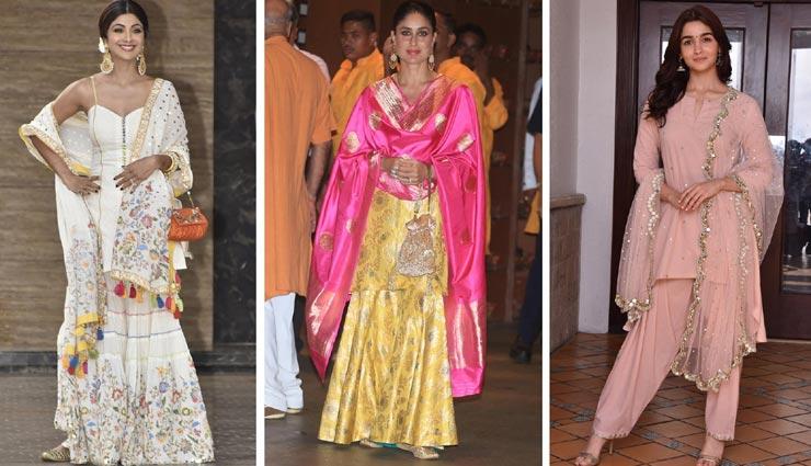 Diwali 2019: दिवाली पर पाना चाहती हैं परफेक्ट लुक, बॉलीवुड डिवाज से के शरारा ड्रेस के टिप्स