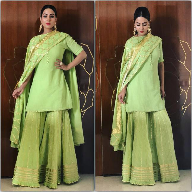 sharara suit,fashion tips ,फैशन टिप्स, फैशन टिप्स हिंदी में, शरारा सूट, महिलाओं का फैशन, स्टाइलिश शरारा सूट, स्टनिंग लुक टिप्स