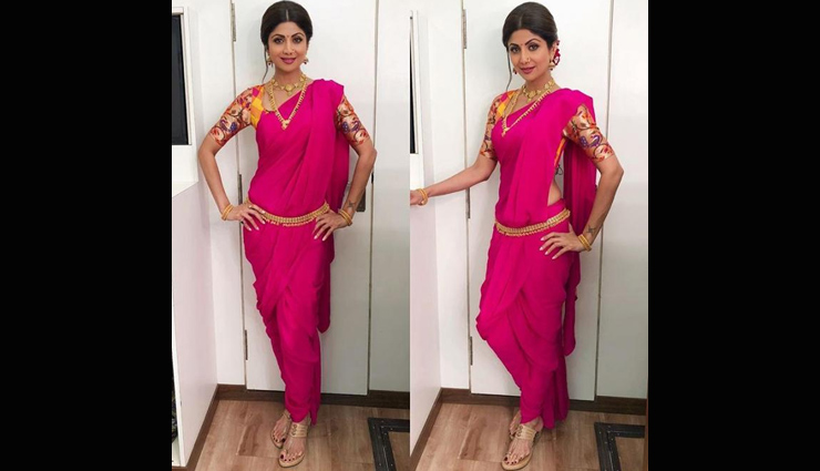 saree trends,saree trends 2018,shilpa shetty inspired saree trends,fashion tips,latest fashion trends